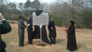 ZCBC unveiling historical marker